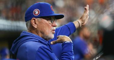 Cubs manager Joe Maddon