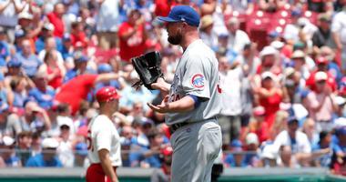 Cubs left-hander Jon Lester