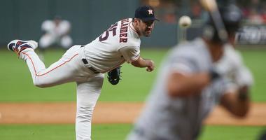 Astros right-hander Justin Verlander
