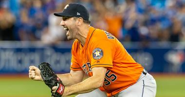 Astros right-hander Justin Verlander