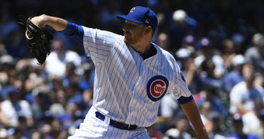 Cubs left-hander Mike Montgomery