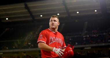 Angels outfielder Mike Trout