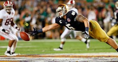 Former Notre Dame linebacker Manti Te'o