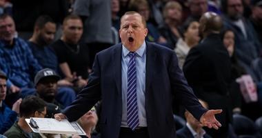 Timberwolves coach Tom Thibodeau