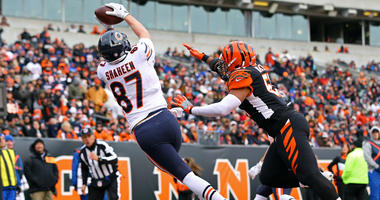 Bears tight end Adam Shaheen