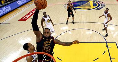 Cavaliers forward LeBron James