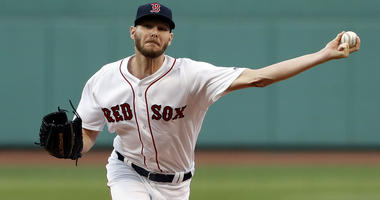 Red Sox left-hander Chris Sale