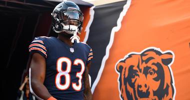 Bears rookie receiver Javon Wims