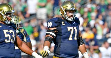 Notre Dame guard Alex Bars