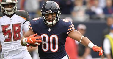 Bears tight end Trey Burton
