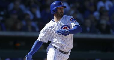 Cubs infielder Daniel Descalso