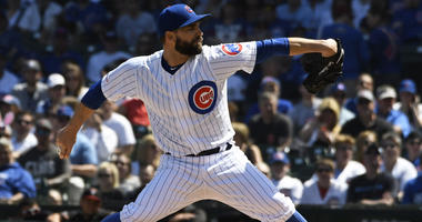 Cubs right-hander Tyler Chatwood
