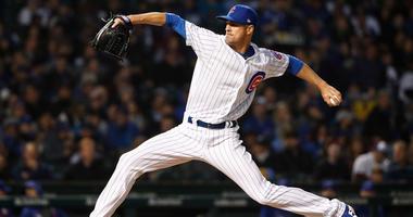 Cubs starter Cole Hamels