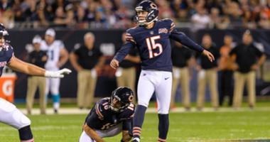 Bears kicker Eddy Pineiro