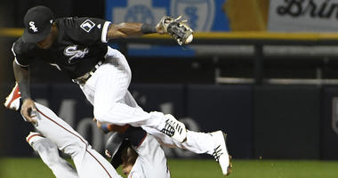 White Sox shortstop Tim Anderson, top