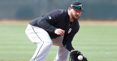 White Sox designated hitter/first baseman Yonder Alonso
