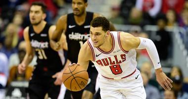 Bulls guard Zach LaVine