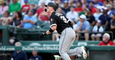 White Sox catcher/designated hitter Zack Collins