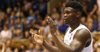 Duke forward Zion Williamson