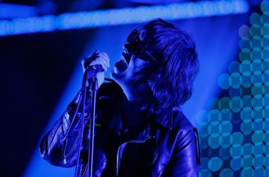Julian Casablancas performs with The Strokes in 2011
