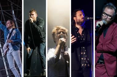 Arcade Fire, Gorillaz, LCD Soundsystem, Father John Misty, and The National