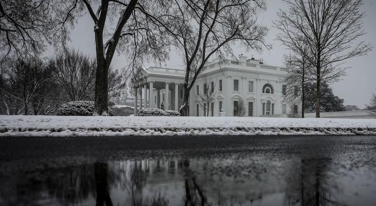 Snow in Washington, DC