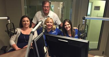 Crystal Padgett, Andrea Proeber and Mary 'Josie' Abbott with 'Mike The Mortgage Man' on The Real Estate Show 10-27-18