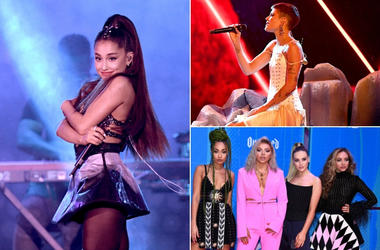 Ariana Grande, Halsey, Little Mix