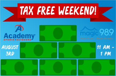Tax Free Weekend at Academy