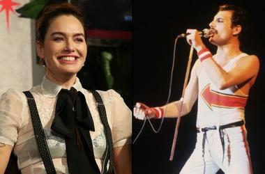 Lena Headey and Freddie Mercury