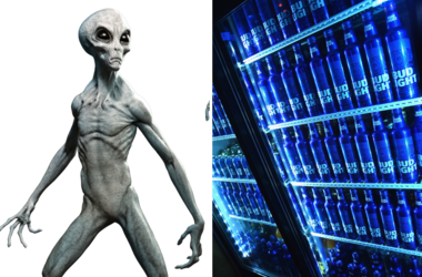 Bud Light is Giving Free Beer to Any Aliens That Escape Area 51