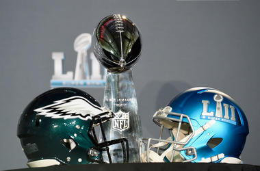 The Vince Lombardi Trophy is seen during Super Bowl LII media availability on February 5, 2018 at Mall of America in Bloomington, Minnesota. The Philadelphia Eagles defeated the New England Patriots in Super Bowl LII 41-33 on February 4th.