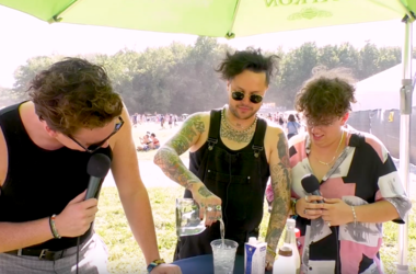 Watch Lovelytheband Create A Signature Lovely Cocktail At Firefly Music Festival 2019 In Dover Delaware with 965 TDY
