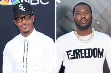 TI. 2018 Billboard Music Awards Red Carpet arrivals at MGM Grand Garden Arena. / Meek Mill attends 2018 NBA Awards at Barkar Hangar on June 25, 2018 in Santa Monica, California.