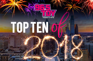 The TDY Top 10 of 2018 Countdown show with LA, LAOnAir