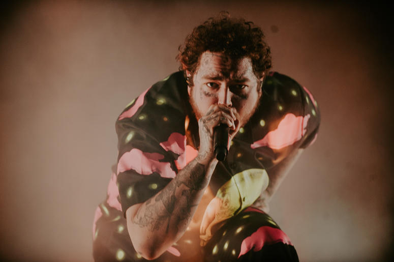 Post Malone performs at Firefly 2019