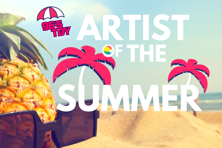 96.5 TDY's Artist of the Summer Vote