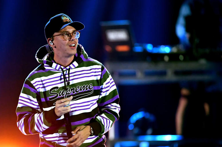 Logic performs onstage during the 2018 Music Festival at T-Mobile Arena on September 22, 2018 in Las Vegas, Nevada.