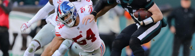 Elliott's 43-yard FG Leads Eagles Past Giants 25-22