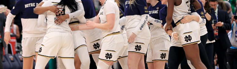 Ogunbowale, Irish rally past UConn 81-76, now play for title