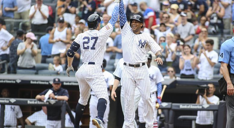 pretty nice 3ae65 70d75 Yankees Bats Provide 4th of July Fireworks | 1080 WTIC NEWSTALK
