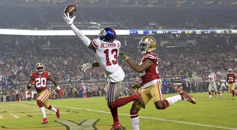 2033c8f0 Manning's Late TD Pass Leads Giants Past 49ers 27-23 | 1080 WTIC ...