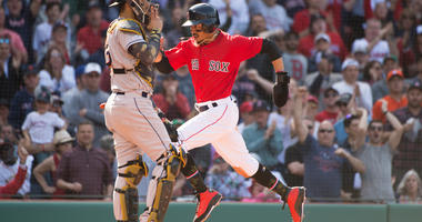 Chavis Homers, Red Sox Snap Astros' 10-game Win Streak