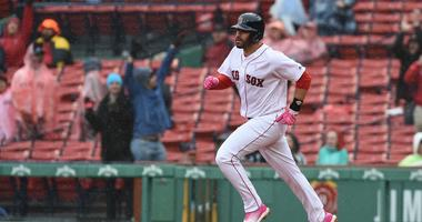 Martinez 2 HRs, Chavis 5 RBIs as Red Sox pound M's 11-2