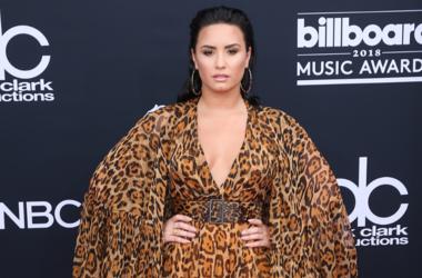 Demi Lovato. 2018 Billboard Music Awards Red Carpet arrivals at MGM Grand Garden Arena