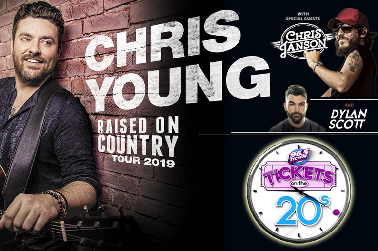 Tickets On The 20s Chris Young 96 5 Tic