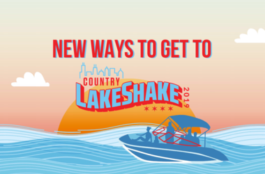 New Ways to get to LakeShake