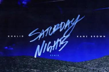 "Khalid feat. Kane Brown ""Saturday Nights"" remix"