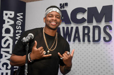 Jimmie Allen attends the 54th Academy Of Country Music Awards