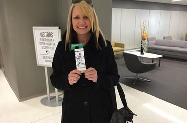 Mom With Cubs Tix